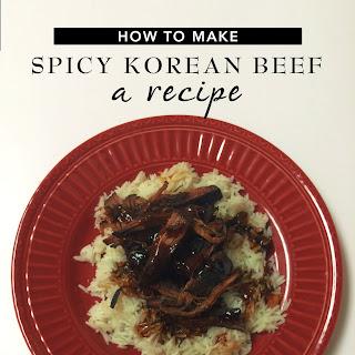 Slow Cooker Korean Spicy Beef | Culture & Cuisine.