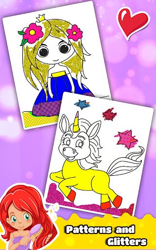 Princess Coloring Book for Kids & Girls ud83cudfa8 1.7 screenshots 5