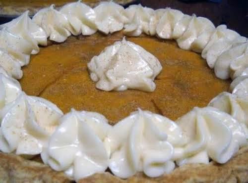 """Maple Pumpkin Pie with Maple Butter Cream """"It was so good and..."""