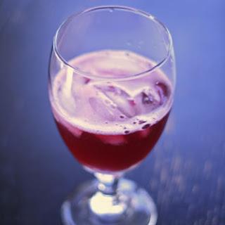 Simple Pomegranate Spritzer.
