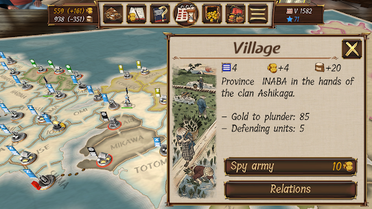 Shoguns Empire: Hex Commander MOD (Unlimited Money/Shopping) 3