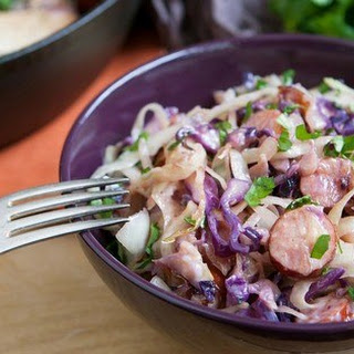 Sausage and Cabbage Skillet.