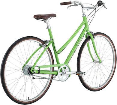 "Civia Lowry 8-Speed Internal Step-Thru Bike -26"", Aluminum, Lime Green/Gray alternate image 2"