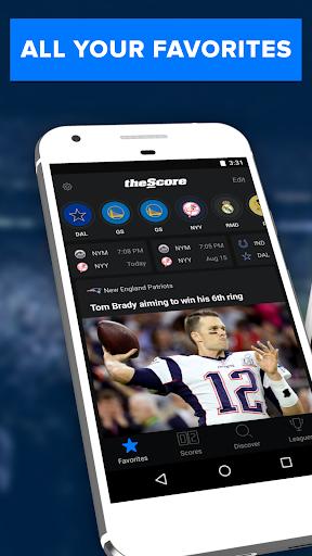 theScore: Live Sports News, Scores, Stats & Videos Screenshot