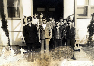 Photo: Patrick Alonzo Tillery (front row, left)and school group 1930s