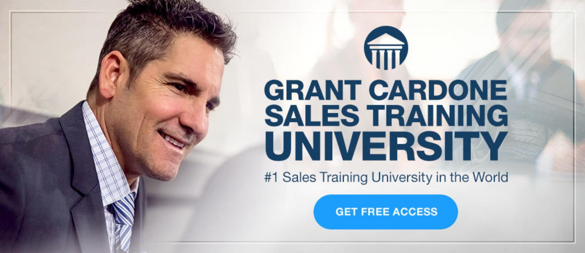 Cardone University Free Access