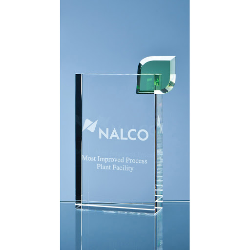 17cm Optical Crystal Eco Excellence Award