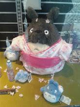 Photo: Byla tam taková kosa, že i Totoro se musel přiobléct.