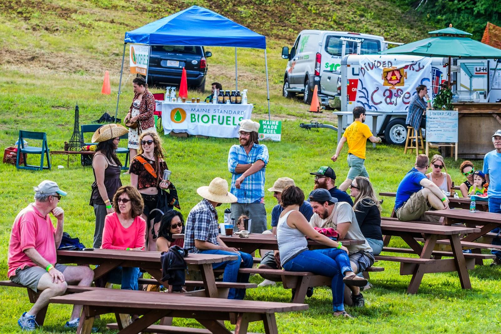 Eco-Friendly Event Planning Open-Air Venue