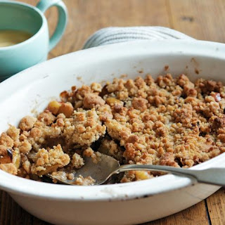 Apple Crumble.