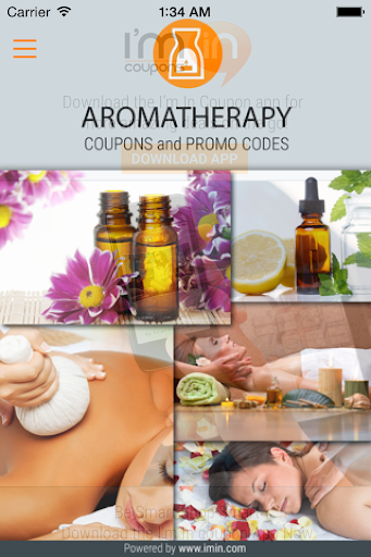 Aromatherapy Coupons - I'm in