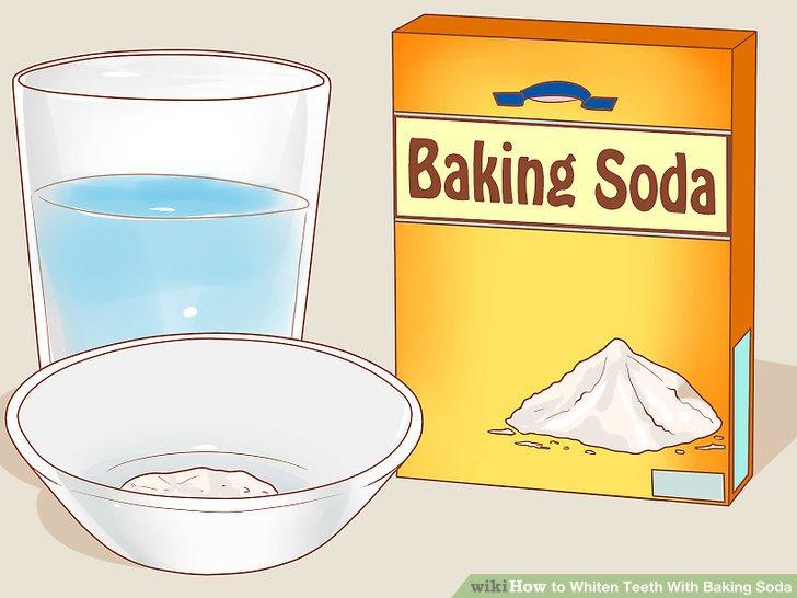Cách Làm Trắng Răng Bằng Baking Soda và nước