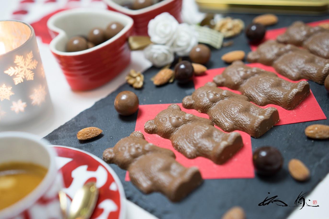 ミルクチョコレートテディーベア