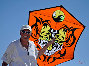 Photo: Steve de Rooy with his self-made Tiger Rok. Man, these iQuad guys are everywhere.