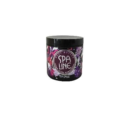 crema corporal spa line body butter ultra humectante mora y yogurt 150ml