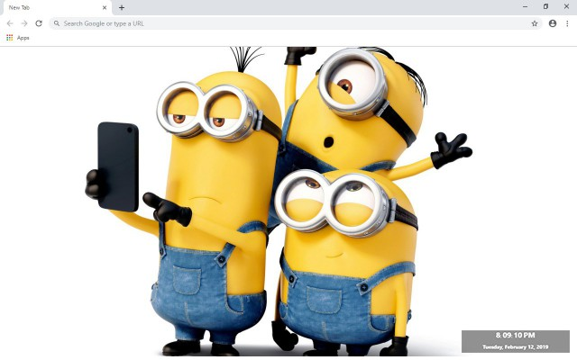 Minions New Tab & Wallpapers Collection