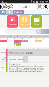 Good Calendar – Schedule, Memo screenshot 1