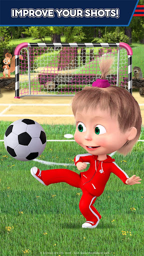 Masha and the Bear: Football Games for kids 1.3.7 screenshots 6