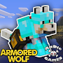 Download Armored Wolf Mod for MCPE apk