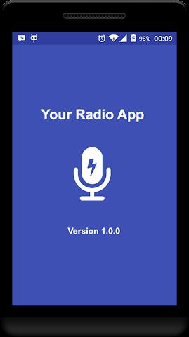 android Your Radio App Demo Screenshot 0