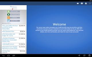 Screenshot of ACS Benefit Services My Money