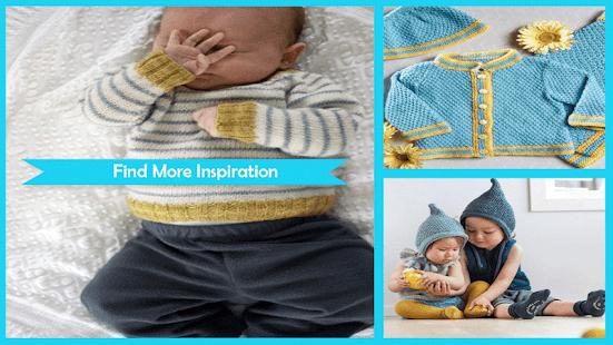 Adorable Baby Knitting Pattern App Su Google Play