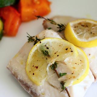 Baked Lemon & Thyme Tilapia