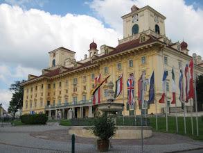 Photo: The Esterhazy palace in Eisenstadt.