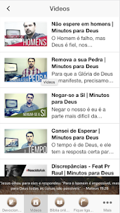 Minutos para Deus- screenshot thumbnail