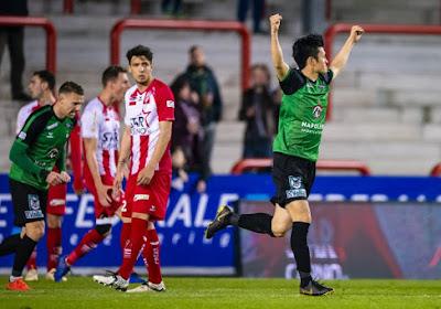 Cercle Brugge is met 2-3 gaan winnen op het veld van Moeskroen