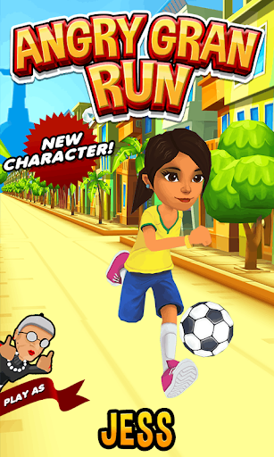 Angry Gran Run - Running Game screenshot 12