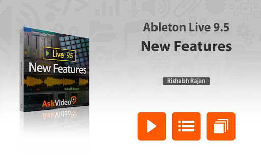 Tour For Live 9.5 New Features