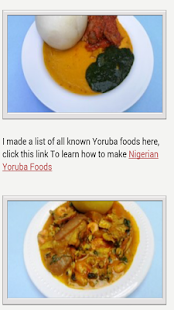 Nigerian food recipes apps on google play screenshot image forumfinder Gallery