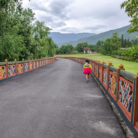 Way to destiny. by Mihir Mondal - Landscapes Travel ( bhutan, landscape )