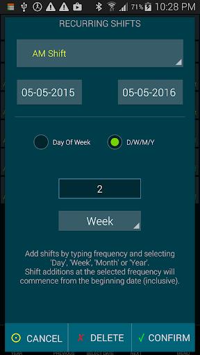 Work Roster 1.011 screenshots 6