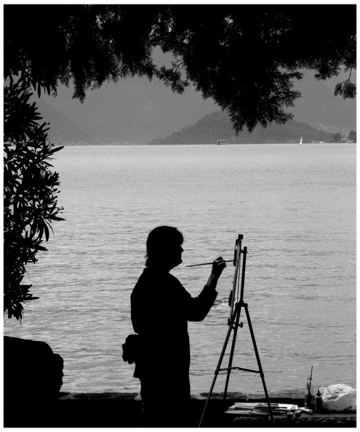 La pittrice di ETTORE STABILINI