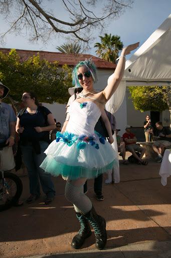 JoCo attendee.jpg - A JoCo attendee at the Loreto festivities.