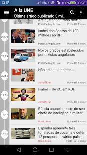 Angola : Noticias de Angola - náhled