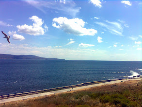 Photo: Widok z Nesebyru na Morze Czarne