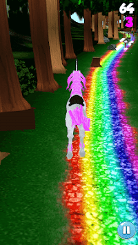 Unicorn Dash Jungle Run 3D image