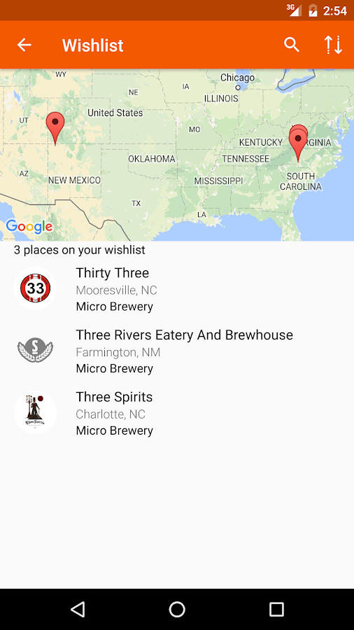 BreweryMap - Find the Source- screenshot