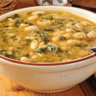 Winter White Bean and Italian Sausage Soup.