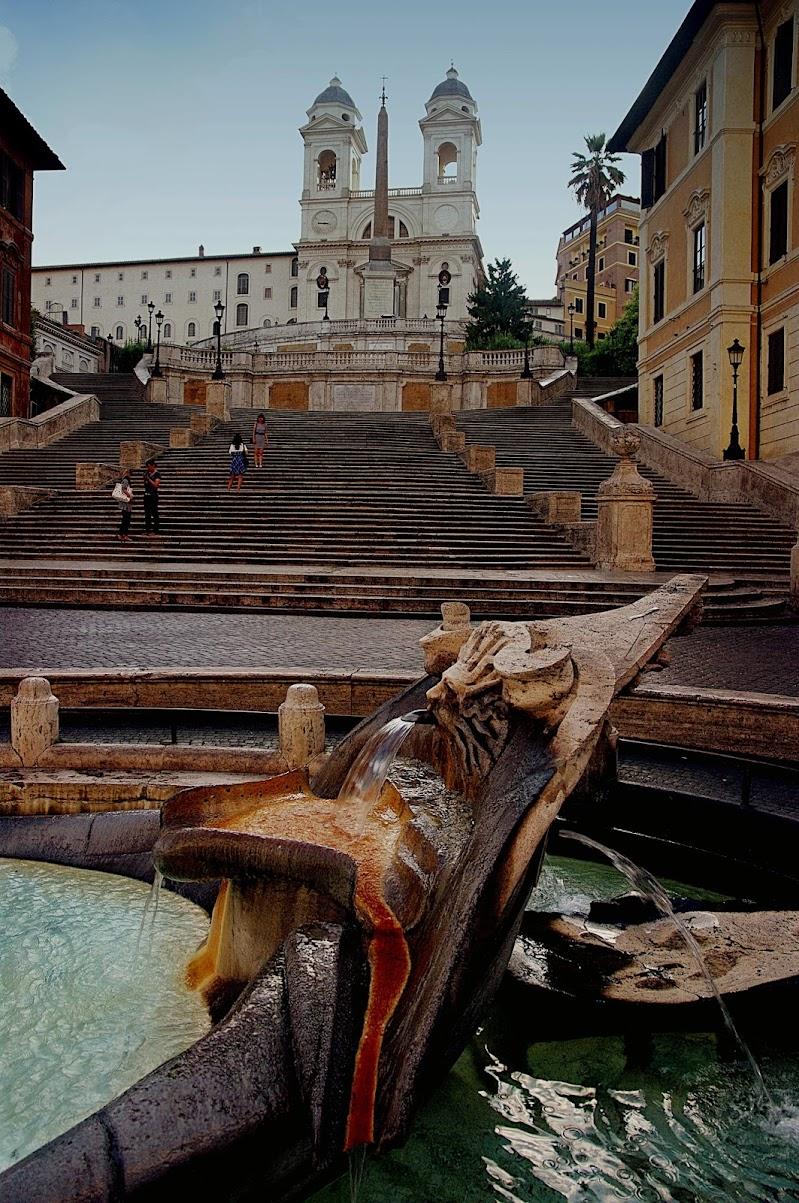Foto ricordo sulla scalinata di paolo1954