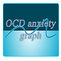 OCD anxiety graph icon