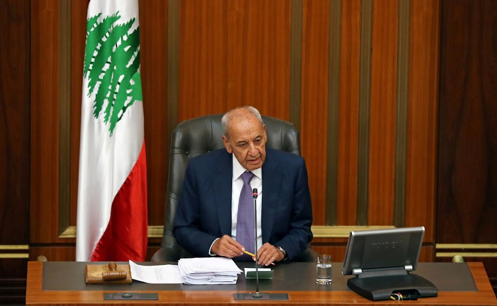 Parliamentary speaker Nabih Berri says Lebanon is in crisis