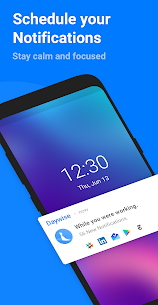 Daywise: Schedule Notifications. Be calm & focused 1