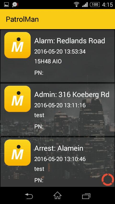 PatrolMan SA (LITE)- screenshot