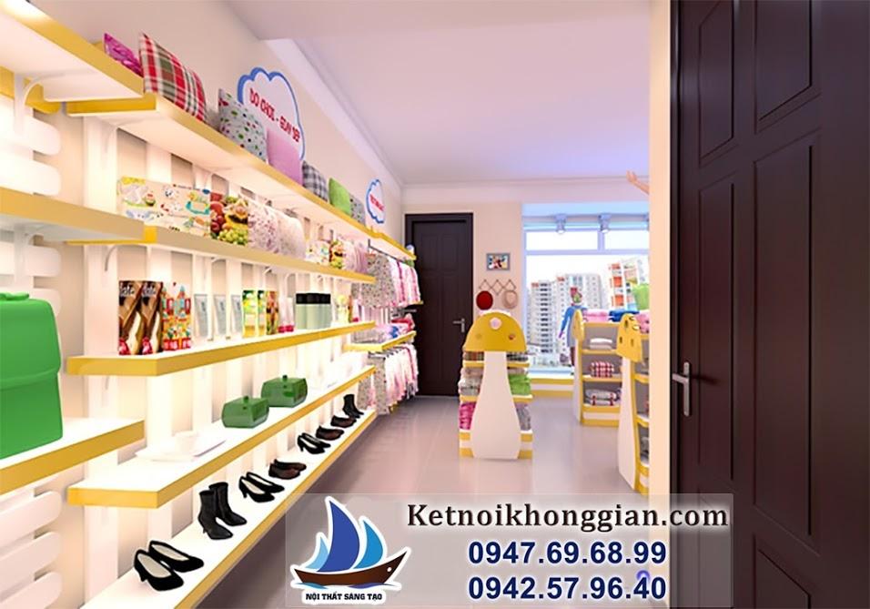 thiết kế shop thời trang chất lượng hàng đầu