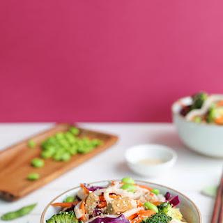 Udon Tempeh Stir Fry with Broccoli Recipe