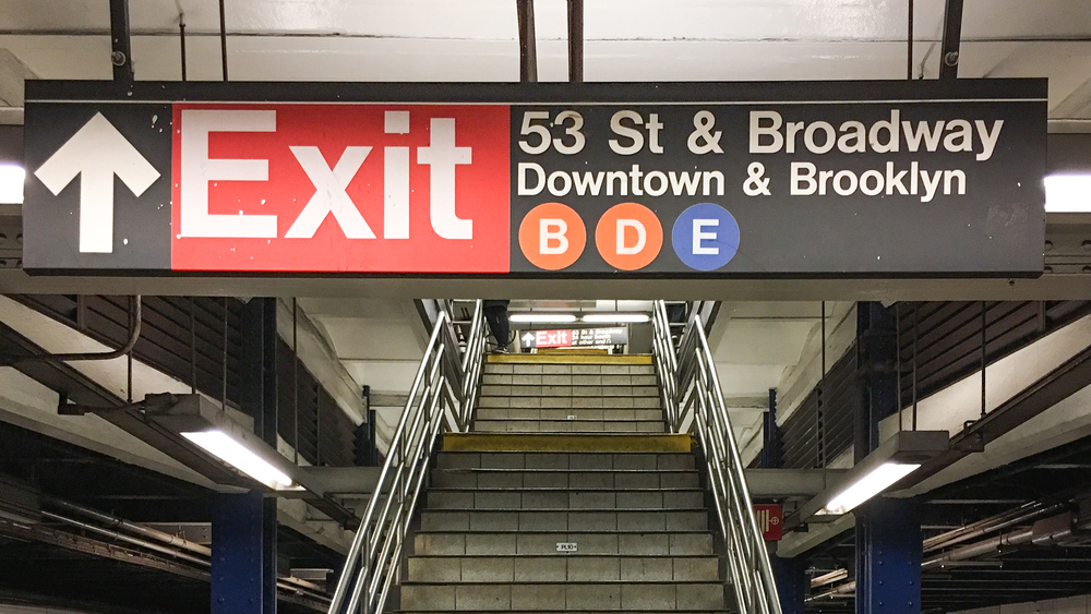 Sistema de transporte público de Nova York pode entrar em colapso sem ajuda federal. (Fonte: Shutterstock)